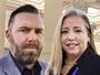 Sara Blackhurst with Brian McCain